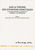 Sur la théorie des situations didactiques