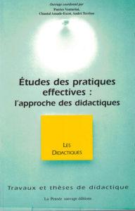 Études des pratiques effectives: l'approche didactique