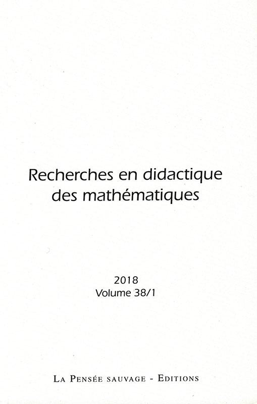 Revue RDM Vol. 38/3