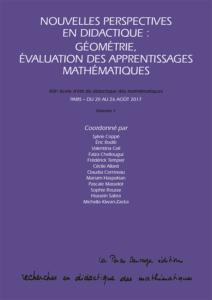 Nouvelles perspectives en didactique : géométrie, évaluation des apprentissages mathématiques