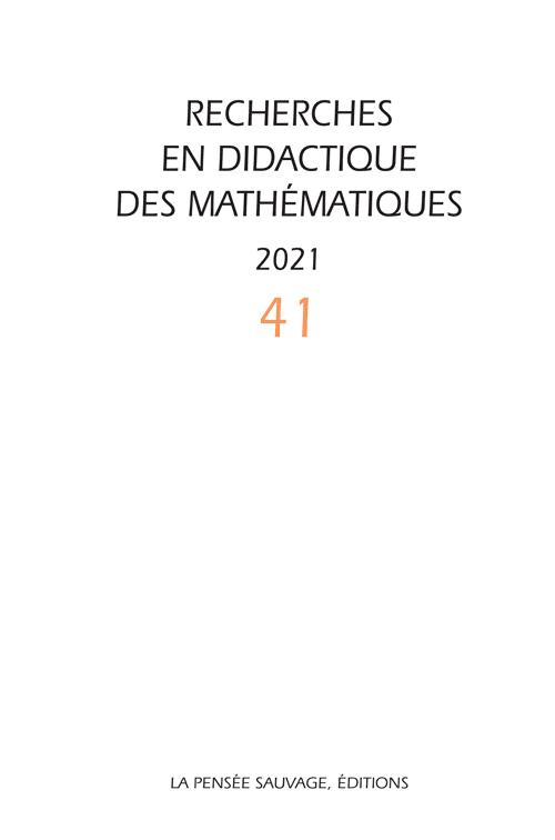 Revue RDM Vol. 41/1